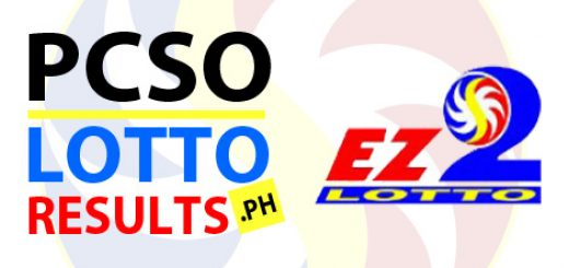 PCSO 2D EZ2 Lotto Results